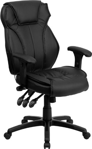 Flash Furniture High Back Leather Chair Review