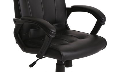 Ergonomic Leather Office Executive Chair Review