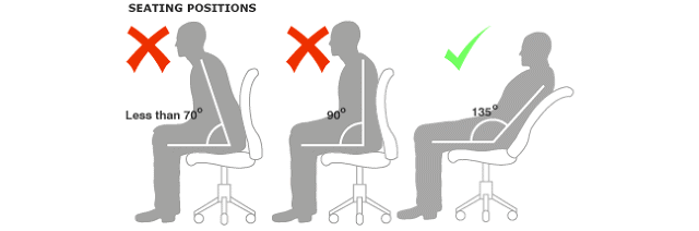 How to Properly Sit in a Office Chair