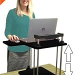 The UpTrak Sit/Stand Desk - New! from award-winning Stand Steady Standing Desks